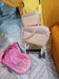 Bebe conforto, carrinho de bebê, bolsa de bebê