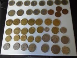 Coleção Europa de Moedas de 16 Paises R$7 a R$25
