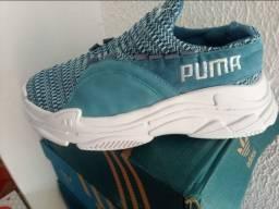 Tênis Puma Azul Novo
