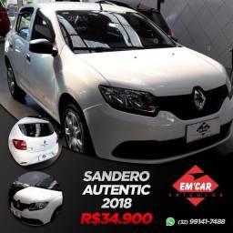 Sandero Autenthic 1.0 2018