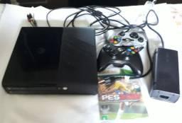 Vendo Xbox 360 desbloqueado semi novo,em Limeira SP