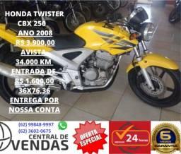 Honda Twister 250 Ano 2008