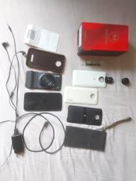 Moto z3 play com snap camera zoom, 360°, bateria e caixa JBL