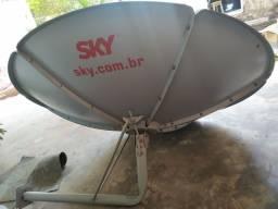 Antena de sky grande