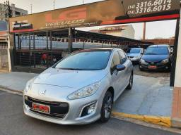 PEUGEOT 308 2014 GRIFE THP TURBO 1.6 FLEX AUTOMATICO