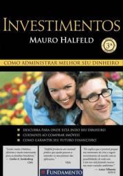 Livro Investimentos Mauro Halfeld Impecável