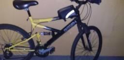 Vendo bicicleta aro 26 revisada 400 reais