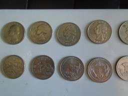 Coleção Estados Unidos Moedas Antigas de R$3 a R$20 Cada