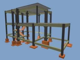 Obras e Elaboração de Projetos