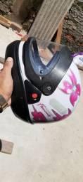 Vendo capacetes seminovos
