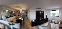Vista Para o Rio// Apartamento na ponta negra 4 Suítes 270m2 Gerador 100%