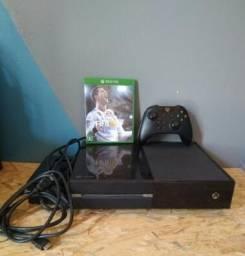 Xbox One Preto Novo 1Tb, Fifa 18 e Watch Dogs 2
