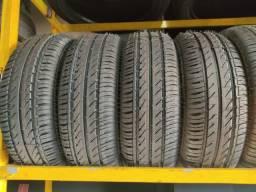 4 pneus 185/60 R15 novos remoldados 6 meses de garantia (760$ até 6x sem juros no cartão)