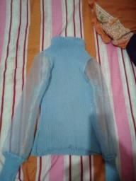 Blusa linda usada uma vez