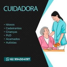 Cuidadora   Cuidadora de Idosos   Cuidadora de PcD