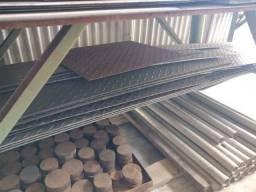 Retalhos de chapas antiderrapantes em aço 1020 para aproveitamento