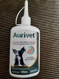 Aurivet e macacão cirúrgico para cães