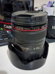 Lente Canon Ef 24-105mm F/4l Is Ii Usm linha L