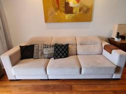 Sofá Retrátil e Reclinável - 3 Lugares - Formato Casa Shopping