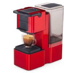 Máquina de Café Multibebidas Três Corações Pop Plus Vermelha Automática Cápsulas Nova