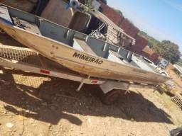 Vende - Barco de 5 metros + Motor + Carretinha