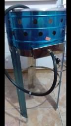 Fritadeira de 5L a gás com suporte nova na caixa lacrada vim buscar