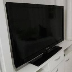Tv Samsung 50 pol perfeito estado não é Smart mas pode ficar com Chrome ou Tv Box