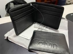 Carteira e porta cartão Calvin Klein