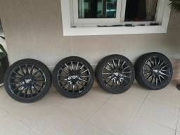 Rodas 17 pneu 205