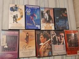 Filmes fitas vhs vídeo cassete original 100 todas ou 10, 20 e 35 as duplas
