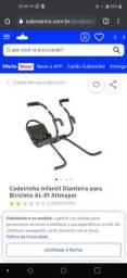 Cadeirinha Infantil Dianteira para Bicicleta