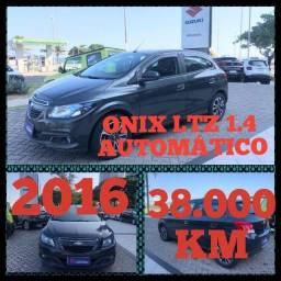 Onix LTZ 1.4 Aut 2016 km 38.000. ROBSON