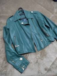 Jaqueta corino