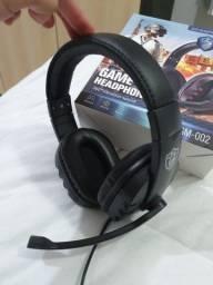 Fone Headset Gamer com microfone