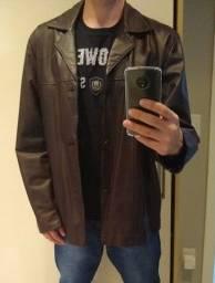 Jaqueta de couro tamanho XG