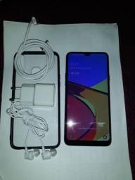 Lindo Samsung A20S azul