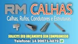 RM CALHAS, RUFOS, CONDUTORES E ESTRUTURAS