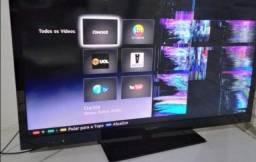 Tv Smart Sony 46 3D com defeito na tela para retirada de peças