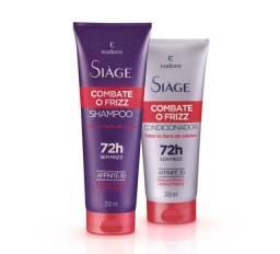 Kit Siàge Combate O Frizz Shampoo + Condicionador<br><br>