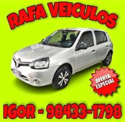 Título do anúncio: OFERTA ESPECIAL! CLIO 1.0 2015 NA RAFA VEICULOS! alk90*