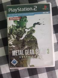 Metal Gear Solid 3 PlayStation 2 Original