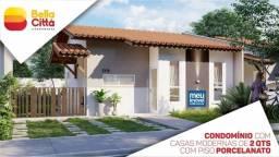 114-Bella Citta seu Condominio Fechado de  Casas na Estrada de Ribamar!