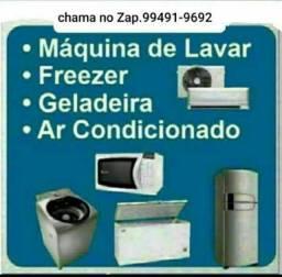 Técnico de ar condicionado, geladeira