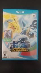Jogo Pokemon Pokkén Tournament para WiiU físico em perfeito estado!