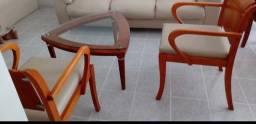 Centro para sala  com duas cadeiras