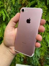 iPhone 7 Black 32GB Seminovo, Nota Fiscal + Garantia