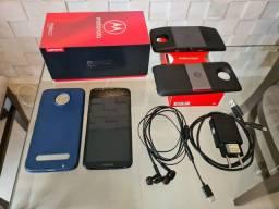 Moto Z3 Play 64GB + Snap Projetor + Snap PowerPack TV Digital