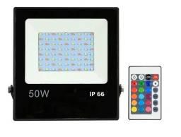 Refletor RGB 50W Ip66 Bivolt