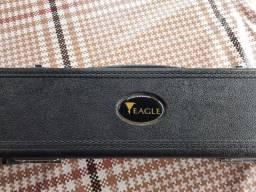 Flauta transversal Eagle prata em Dó