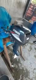Motor popa Yamaha 15HP semi-novo